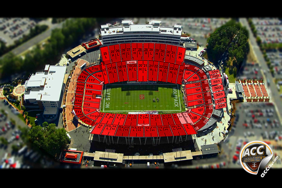 Carter-Finley Stadium Seating Diagram